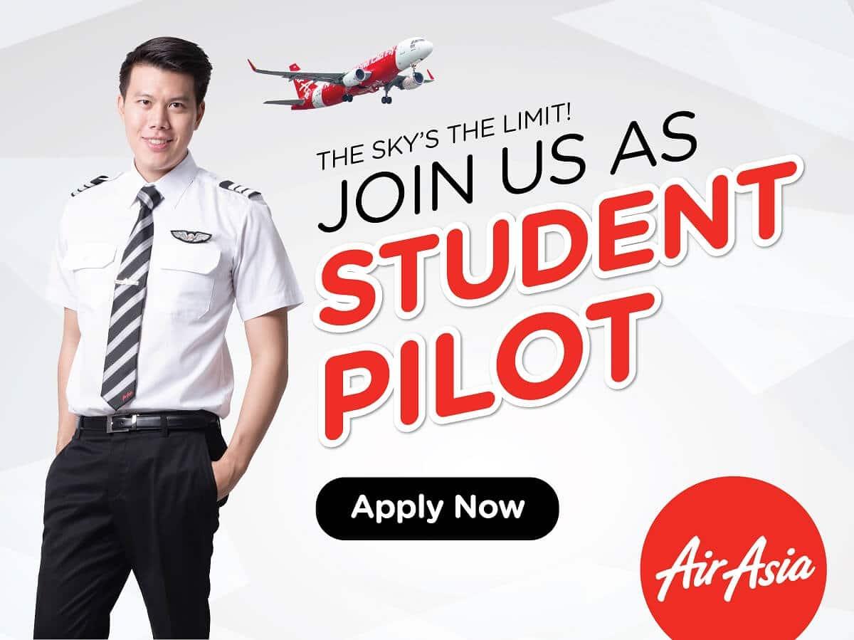 student pilot thai air asia 2017
