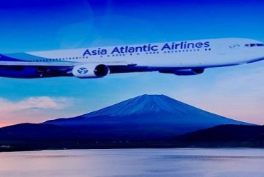 สมัครงาน Captain & First Officer Asia Atlantic Airlines