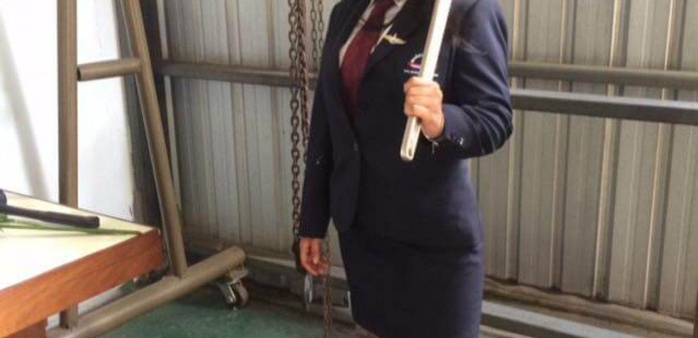 Engineer Tutor Family นางสาวศิรัญญา สิงห์เมือง สาขาวิชานายช่างบำรุงอากาศยาน (AMEL53) สถาบันการบินพลเรือน