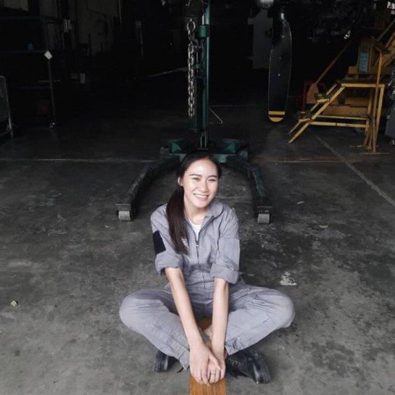 Engineer Tutor Family นางสาว ปัญญณัฐ มณีวงศ์วรรณ สาขาวิชาเทคโนโลยีอากาศยาน-เครื่องวัดประกอบการบิน สถาบันการบินพลเรือน