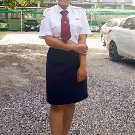 Engineer Tutor Family นางสาว กมลพรรณ อาจวิชัย คณะเทคโนโลยีการบินบัณฑิต (AVM19) สถาบันการบินพลเรือน