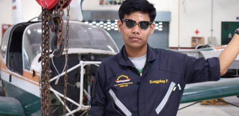 Engineer Tutor Family นาย ก้องภพ เพิ่มพูล สาขาวิชานายช่างบำรุงอากาศยาน (AMEL55) สถาบันการบินพลเรือน
