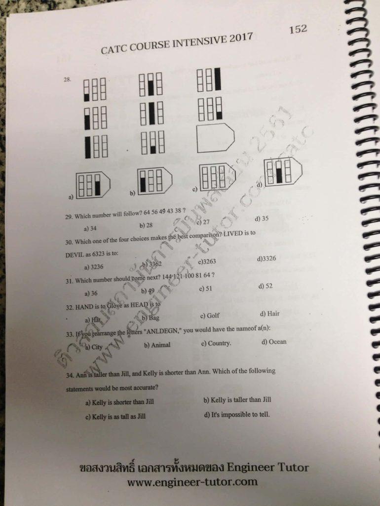 หนังสือติวสอบสถาบันการบินพลเรือน
