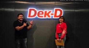 วันเซ็นสัญญาเอ็นจินเนียร์ติวเตอร์ ร่วมกับ Dek-D กับการออกข้อสอบในโครงการ Dek-D's Pre-Admission TCAS '62