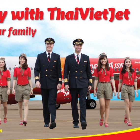 Thai Vietjet Air เปิดครับ Carbin Crew รับทั้งชาย-หญิง มีคุณสมบัติอยู่หลายข้อน่ะครับ อ่านละเอียดกันนิดหนึงน่ะครับ