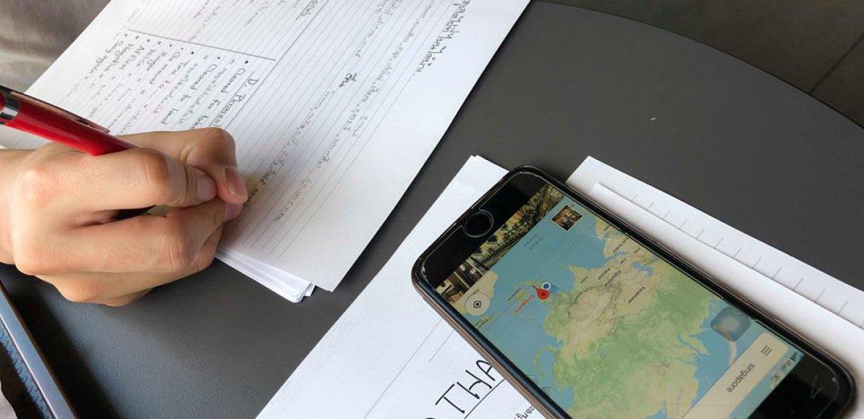 บรรยากาศติวสอบสัมภาษณ์ภาษาไทย (รอบสุดท้าย) นักเรียนฝึกหัดจราจรทางอากาศ 2562 โดยพี่ผักกาด ATC Aerothai