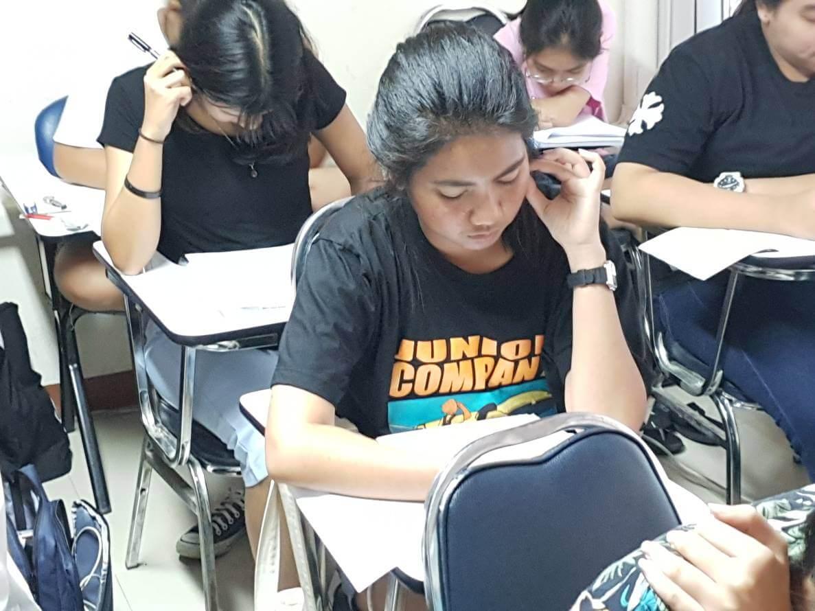 ทดสอบหลังเรียน คอร์สติวสอบสถาบันการบินพลเรือน ปรับพื้นฐาน ต.ค. 2562