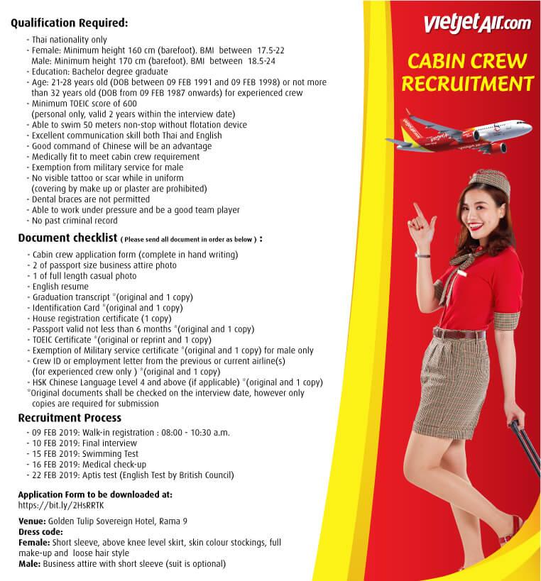 vetjet_cabin crew 2019