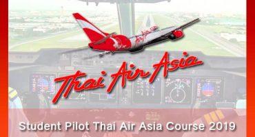 Student Pilot Thai Air Asia Course 2019