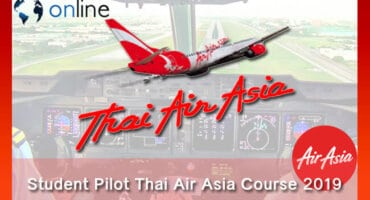 Student Pilot Thai Air Asia Course 2019