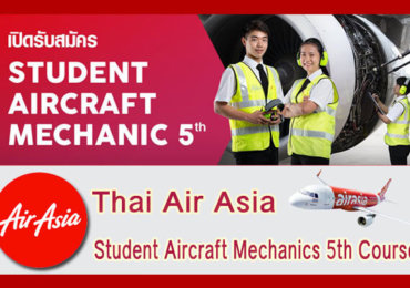 STUDENT AIRCRAFT MECHANICS THAI AIRASIA 2562