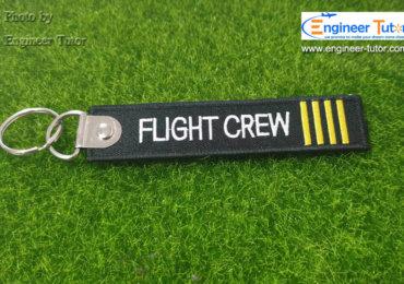 พวงกุญแจ Flight Crew Limited Edition ซื้อได้แล้ววันนี้ที่ เอ็นจิเนียร์ติวเตอร์ ช็อป