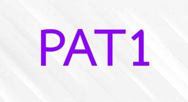 ข้อสอบ PAT1 วิชาความถนัดทางคณิตศาสตร์
