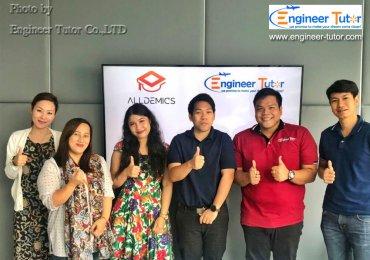ความร่วมมือกันระหว่าง บริษัทเอ็นจิเนียร์ ติวเตอร์ จำกัด และ บริษัท ออลเดมิคส์ จำกัด กับคอร์สติวสอบ ก.พ. ภาค ก ออนไลน์ บน Platform Cloud Server ที่ดีที่สุดของเมืองไทย