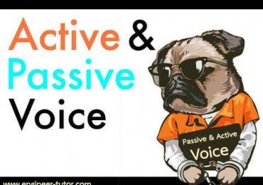 Passive Voice & Active Voice จำยังไง??