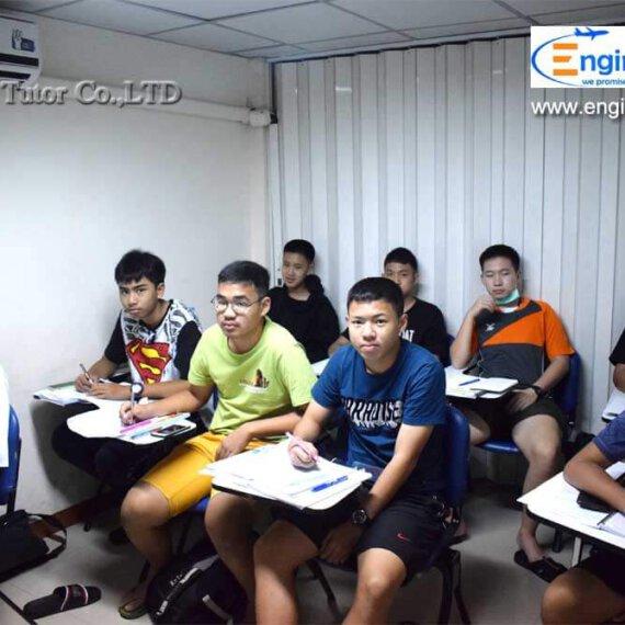 ภาพบรรยากาศคอร์สติวสอบโรงเรียนช่างการไฟฟ้าส่วนภูมิภาค หลักสูตร 3 ปี คุณวุฒิ ม.3 ปี 2563