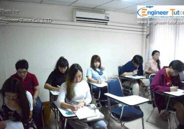 ภาพบรรยากาศคอร์สติวสอบ ก.พ. เรียนที่สถาบัน วันเสาร์-อาทิตย์ 2563